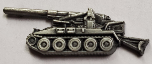 M110 8 Inch Self-Propelled Howitzer Hat or Lapel Pin - HATNPATCH