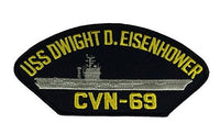 USS DWIGHT D. EISENHOWER CVN-69 PATCH