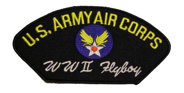 U.S. ARMY AIR CORPS WWII FLYBOY Veteran Patch