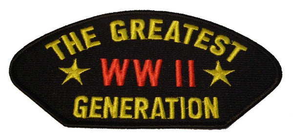 WWII THE GREATEST GENERATION PATCH - HATNPATCH