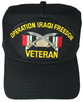OIF VETERAN W/ RIBBONS HAT - HATNPATCH