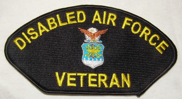 Disabled Air Force Veteran Patch - HATNPATCH