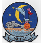VAH-21 Heavy Attack Squadron Twenty One Patch - Found per customer request! Ask Us!