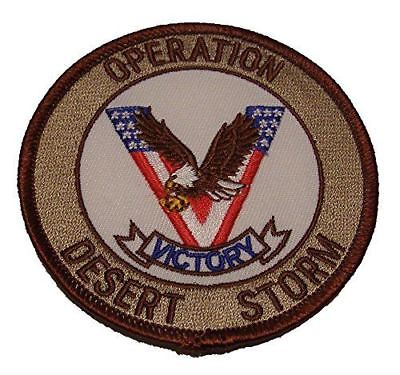 OPERATION DESERT STORM ODS VICTORY PATCH VETERAN GULF WAR IRAQ KUWAIT SAUDI