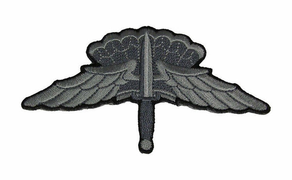 HALO HIGH ALTITUDE LOW OPEN MILITARY FREEFALL PARACHUTIST BADGE PATCH ARMY USAF