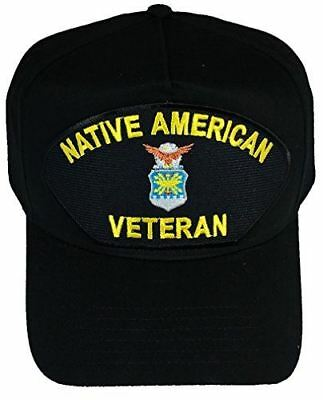 USAF AIR FORCE NATIVE AMERICAN VETERAN HAT INDIAN INDIGENOUS MILITARY SERVICE