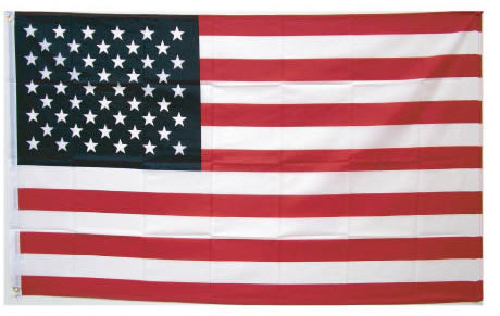 Nylon USA Flag 3 X 5