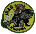 IRAQ A-10 WARTHOG ROUND PATCH