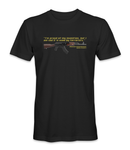 AK-47 Inventor Quote T-Shirt - HATNPATCH