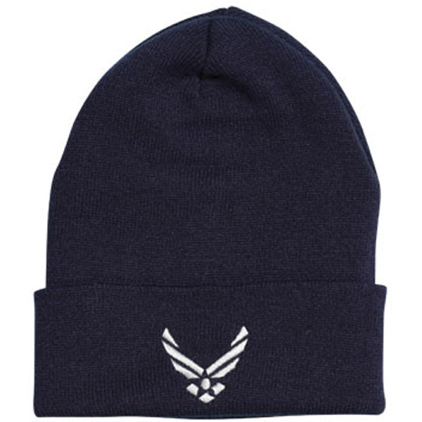 Air Force Hap Arnold Wing Direct Embroidered Blue Watch Cap