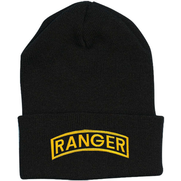 Army RANGER Direct Embroidered Black Watch Cap