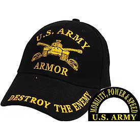 US ARMY ARMOR DESTROY THE ENEMY HAT