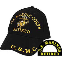 US MARINE CORPS RETIRED HAT - HATNPATCH