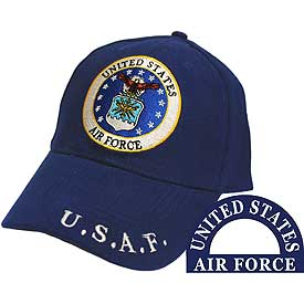 US AIR FORCE LOGO HAT