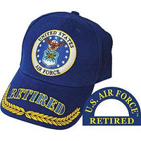 US AIR FORCE RETIRED HAT - HATNPATCH