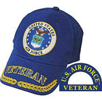 US AIR FORCE VETERAN HAT