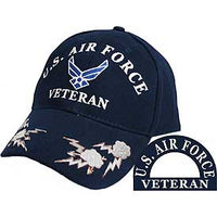 US AIR FORCE VETERAN W/ CLOUDS HAT