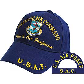 STRATEGIC AIR COMMAND SAC HAT - HATNPATCH