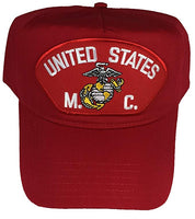 UNITED STATES M. C Red/Golf Hat w/Snap Back - CLEARANCE