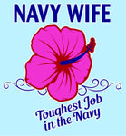 Navy Wife Decal - HATNPATCH