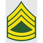 US Army E-7 SFC 2 inch Sergeant 1st Class Decal