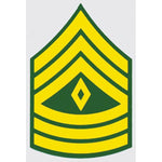 US Army E-8 1SG 1st Sergeant 2 inch Decal - HATNPATCH