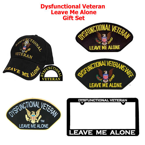Dysfunctional Veteran Leave Me Alone Gift Set