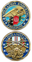 OEF AFGHANISTAN CHALLENGE COIN