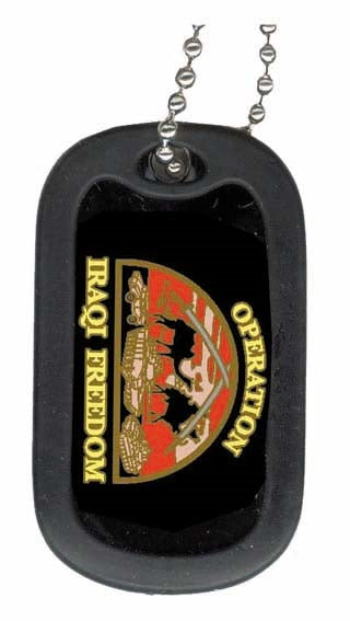 OPERATION IRAQI FREEDOM DOG TAG