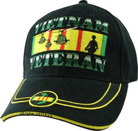 VIETNAM VETERAN BLACK HAT
