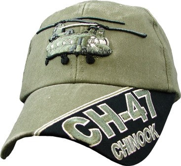 CH-47 CHINOOK HELICOPTER HAT - HATNPATCH