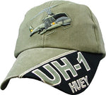 UH-1 HUEY HELICOPTER HAT - HATNPATCH