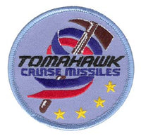 TOMAHAWK CRUISE MISSILE PATCH
