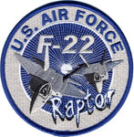 U.S. AIR FORCE F-22 RAPTOR PATCH