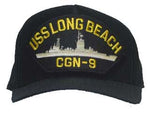 USS LONG BEACH CGN-9 HAT - HATNPATCH