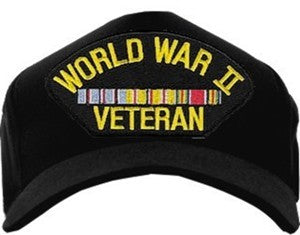WW II VETERAN PACIFIC (3RIBBON-AMERICAN) HAT