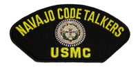 USMC NAVAJO CODE TALKER PATCH