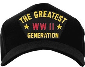 GREATEST GENERATION WWII HAT