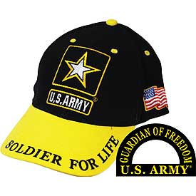 ARMY SOLDIER FOR LIFE HAT - HATNPATCH