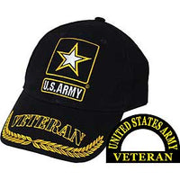 US ARMY VETERAN STAR HAT - HATNPATCH