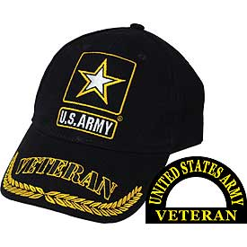 US ARMY VETERAN STAR HAT