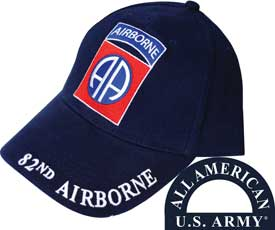 82ND AIRBORNE ALL AMERICAN HAT - HATNPATCH