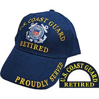 US COAST GUARD RETIRED HAT - HATNPATCH