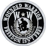 WW WOUNDED WARRIOR FREEDOM ISN'T FREE PATCH