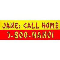 Jane Call Home Bumper Sticker - HATNPATCH