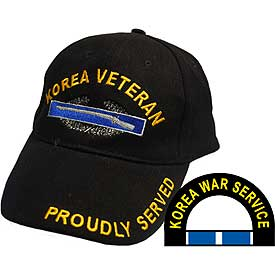 KOREA VETERAN HAT W/CIB - HATNPATCH