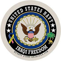US NAVY IRAQI FREEDOM DECAL - HATNPATCH