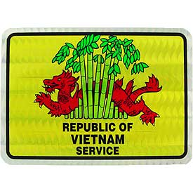 Republic of Vietnam Service Decal
