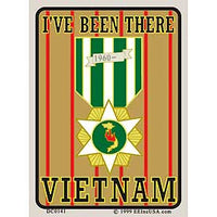 I've Been There Vietnam Decal - HATNPATCH