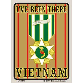 I've Been There Vietnam Decal